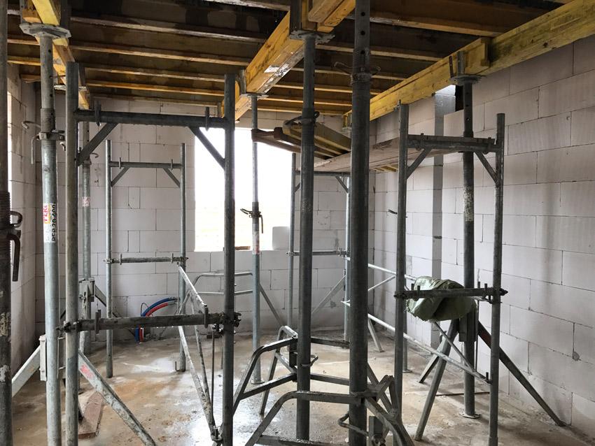 Изображение 1 – Перекрытие первого этажа. Подготовительный этап