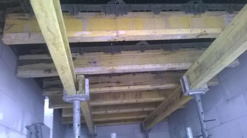 Изображение 2 – Перекрытие первого этажа. Подготовительный этап