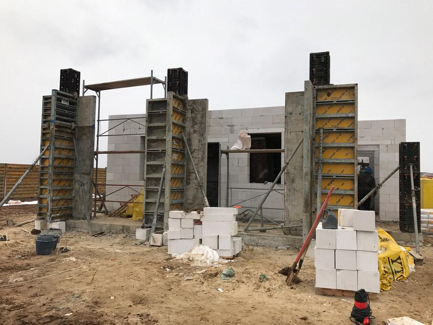 Изображение 7 – Перекрытие первого этажа. Подготовительный этап