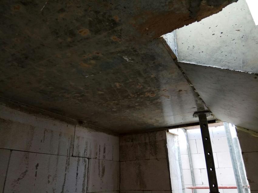 Изображение 10 – Расчет и бетонирование лестницы