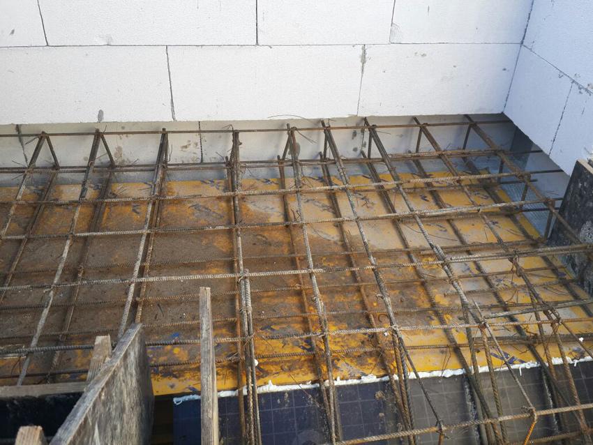 Изображение 3 – Расчет и бетонирование лестницы
