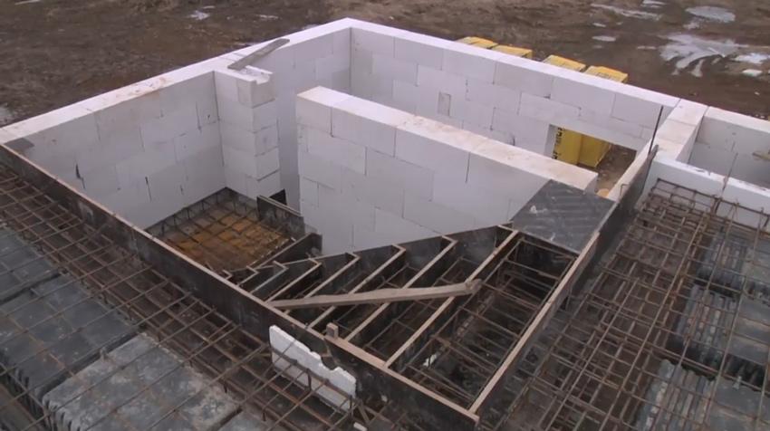 Изображение 4 – Расчет и бетонирование лестницы